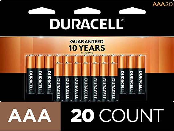 Duracell - CopperTop AAA Alkaline Batteries - long lasting
