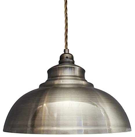 Modern vintage antique brass pendant light shade industrial hanging modern vintage antique brass pendant light shade industrial hanging ceiling light ideal for dining room bar aloadofball Gallery