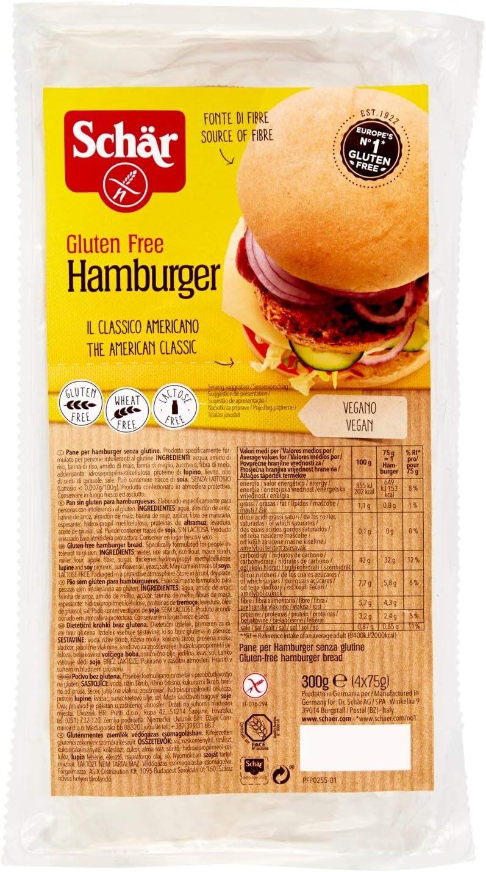 Pan de hamburguesa sin gluten ADPAN (300 gr)