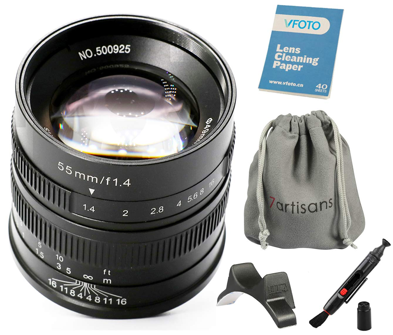 Nwv Direct Micro Fiber Cleaning Cloth for Canon VIXIA HF M500 0.21x-0.22x High Grade Fish-Eye Lens