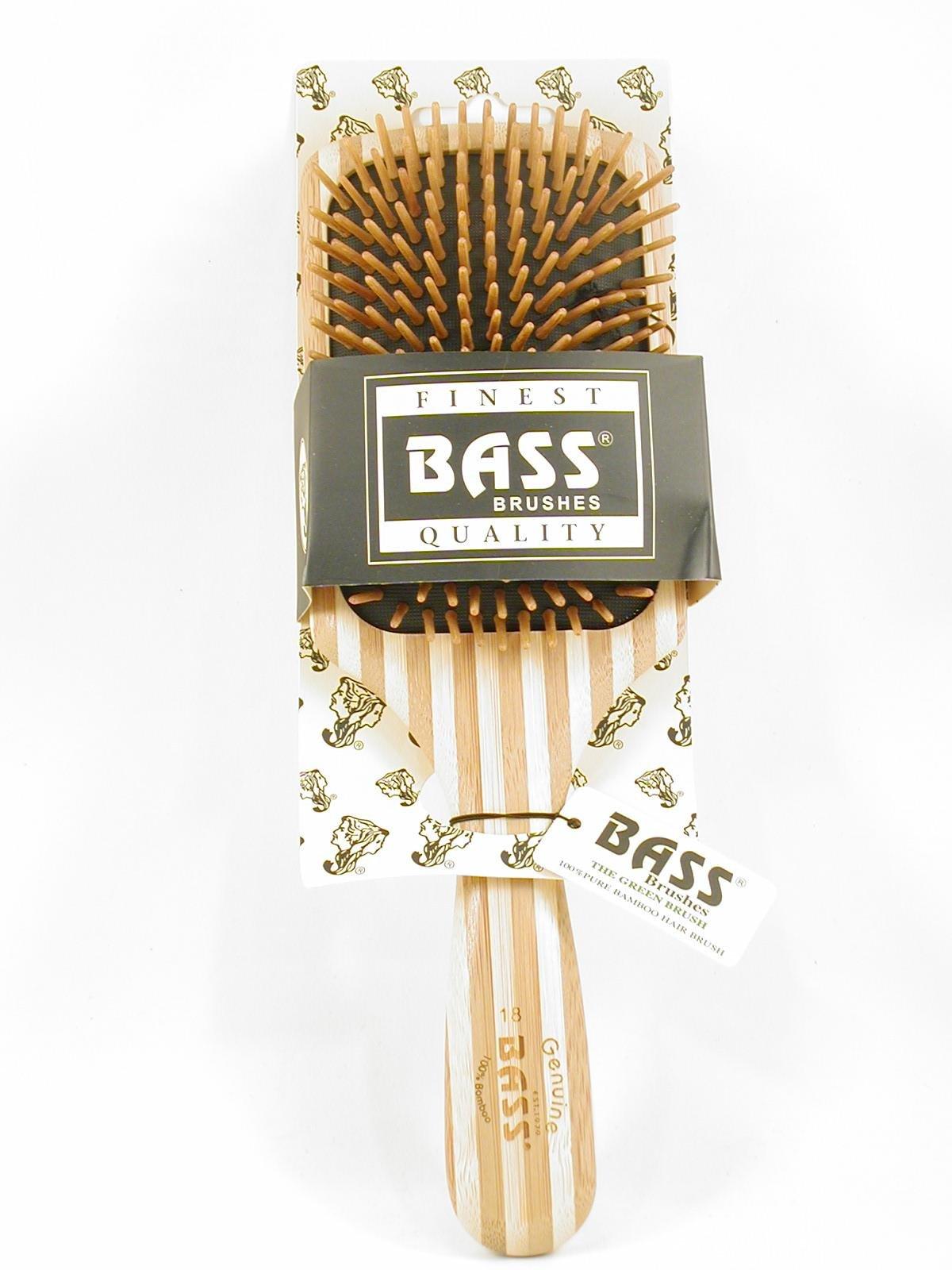 Bass Brushes Large Square Paddle Brush