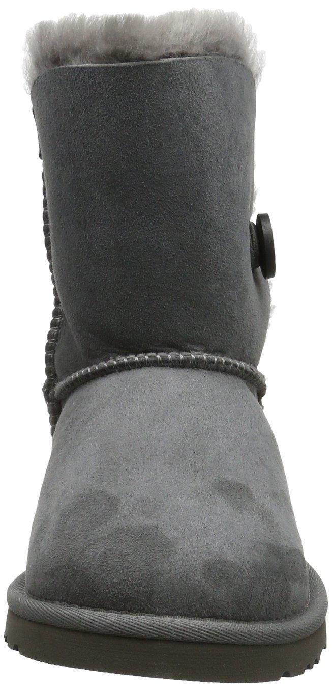 Ugg Australia Bailey Button Girls' Boots, gris (Grigio (grey)), 9 UK Child by UGG (Image #4)