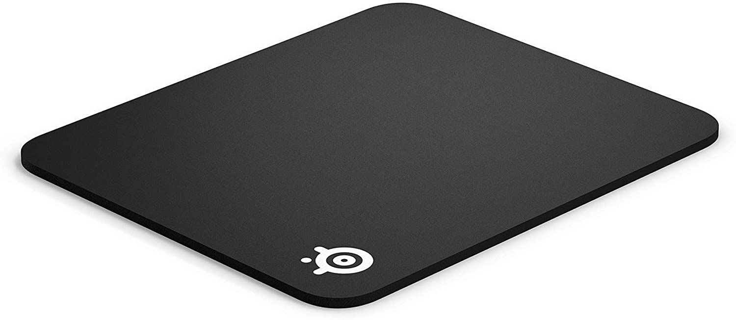SteelSeries Qck Gaming Surface - Medium Thick Cloth - BEST Selling Mouse Pad of All Time - Peak Tracking and Stability - Maximum Control, Black