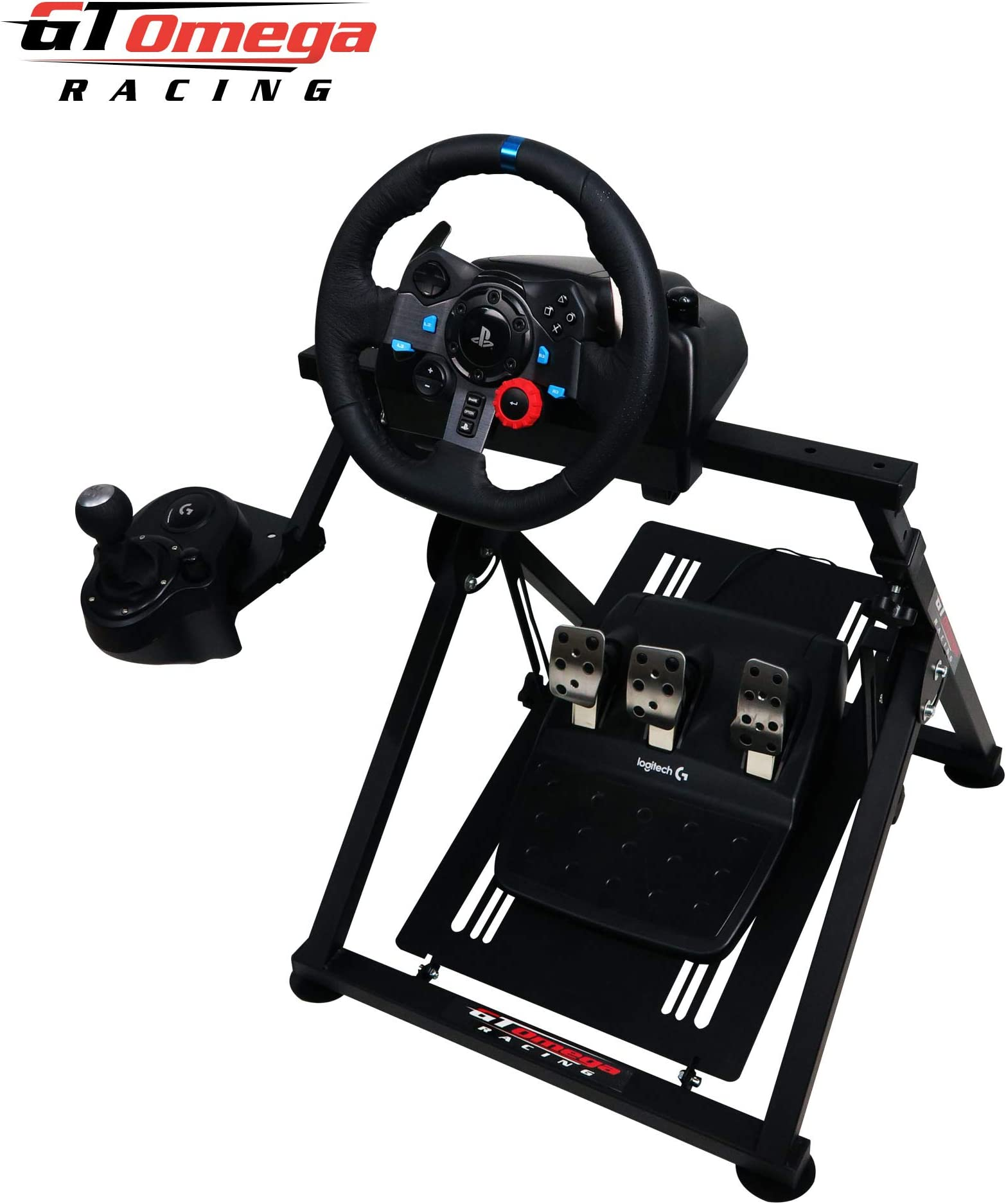 7fc0ee6796a Amazon.com: GT Omega APEX Racing Wheel Stand for Logitech G29 Gaming ...