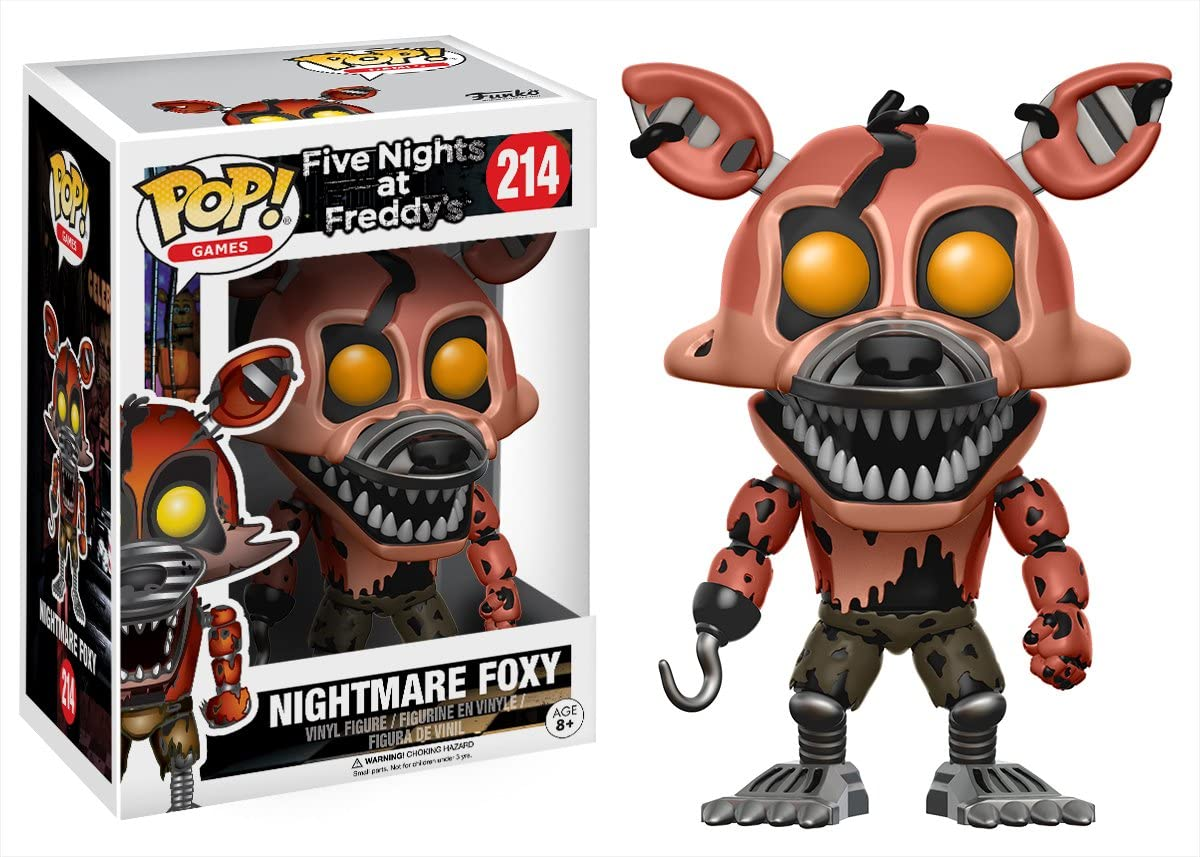POP! Vinilo - Games: FNAF: Nightmare Foxy: Amazon.es: Juguetes y juegos