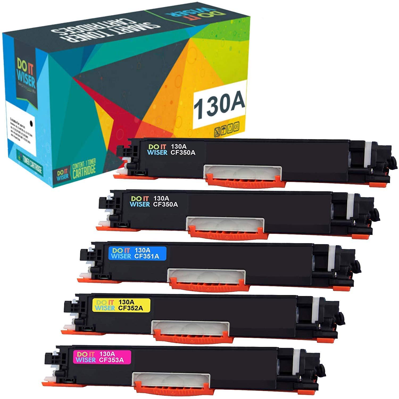 Toner Alternativo ( X5 ) 4 Colores 130A CF350A MFP M176 M177 M177fw
