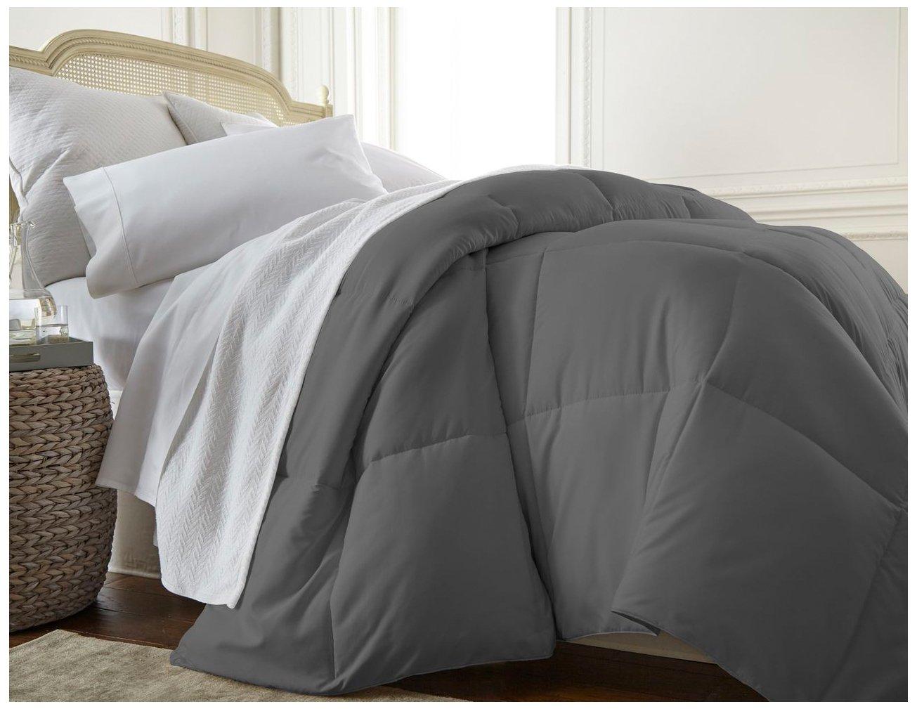 Simply Soft Comforter, King/California King, Gray
