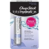 ChapStick Total Hydration (Soothing Vanilla Flavor, 1 Blister Pack of 1 Stick) Flavored Lip Balm Tube, 100% Natural Lip Care, Clinically Proven, 0.12 Ounce