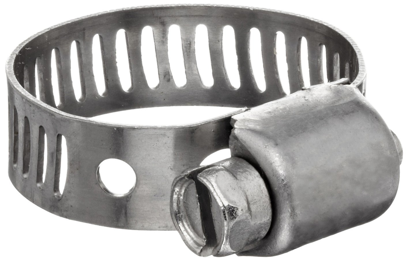 Dixon MAH8 Stainless Steel Miniature Worm Gear Hose Clamp with SAE 300 Stainless Steel Screw 1//2 to 29//32 Hose OD Range 5//16 Band Width Pack of 10