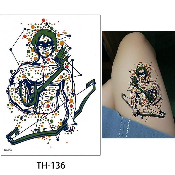 adgkitb 3pcs Mujeres Etiqueta engomada del Tatuaje a Prueba de ...