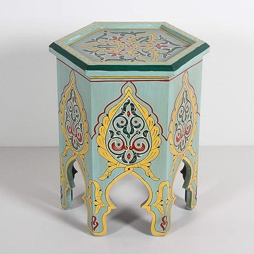 Casa Moro Marrakesch marroquí pintadas a Mano handgertigte - Mesa ...