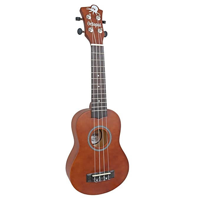 Octopus UK200D-BR - Ukelele soprano, color marrón: Amazon.es: Instrumentos musicales