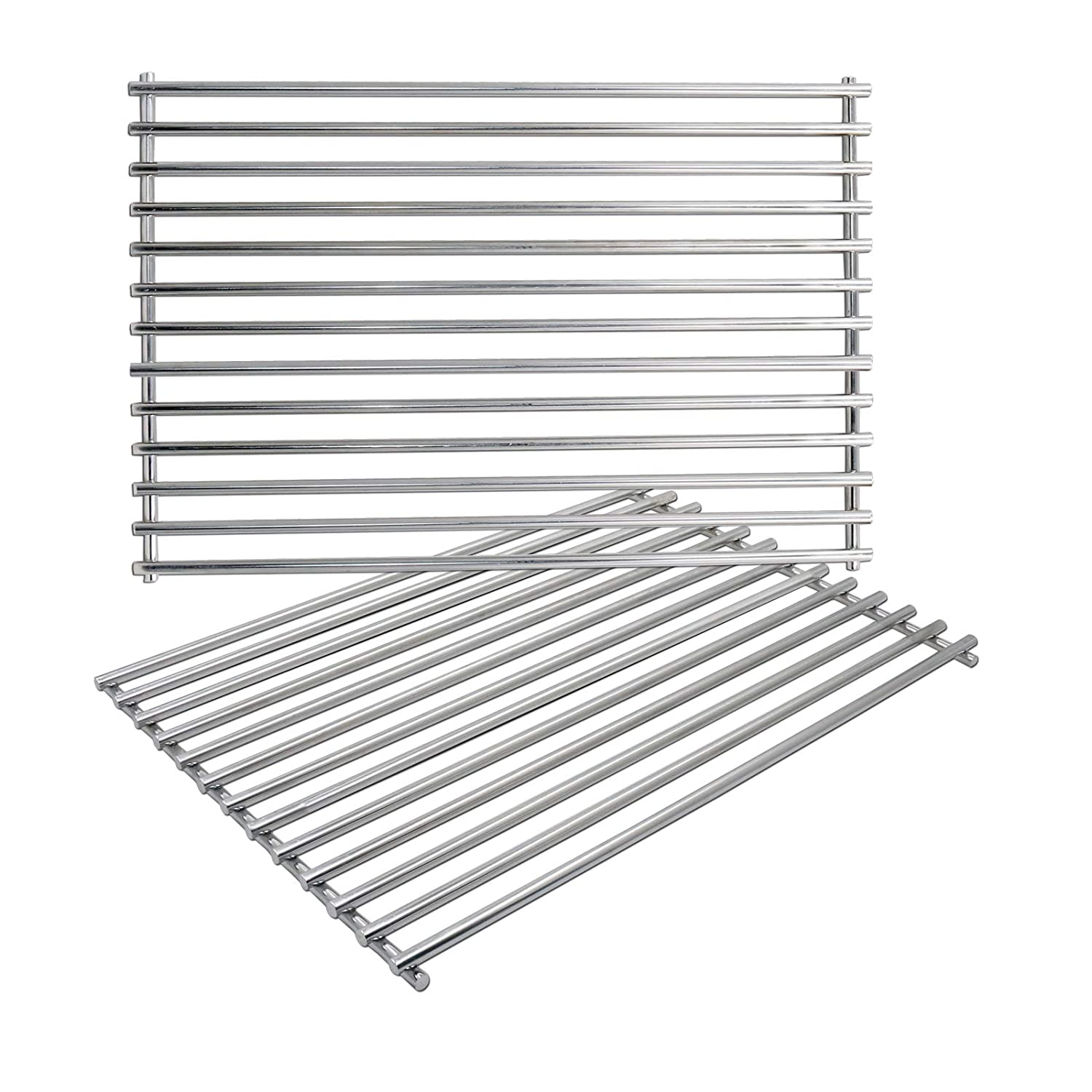 Uniflasy Cast Iron Grill Cooking Grid Grates Replacement Parts for Weber Spirit 300 Series, Spirit 700, Weber 7526, Genesis 1000-3500, Genesis Silver B/C, Genesis Gold B/C, Genesis Platinum B/C (2005)