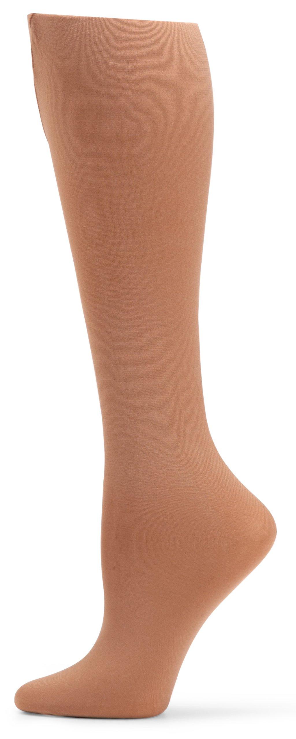 Suntan Full Footed Tights Danskin 703 Girl/'s Size Small 4-6