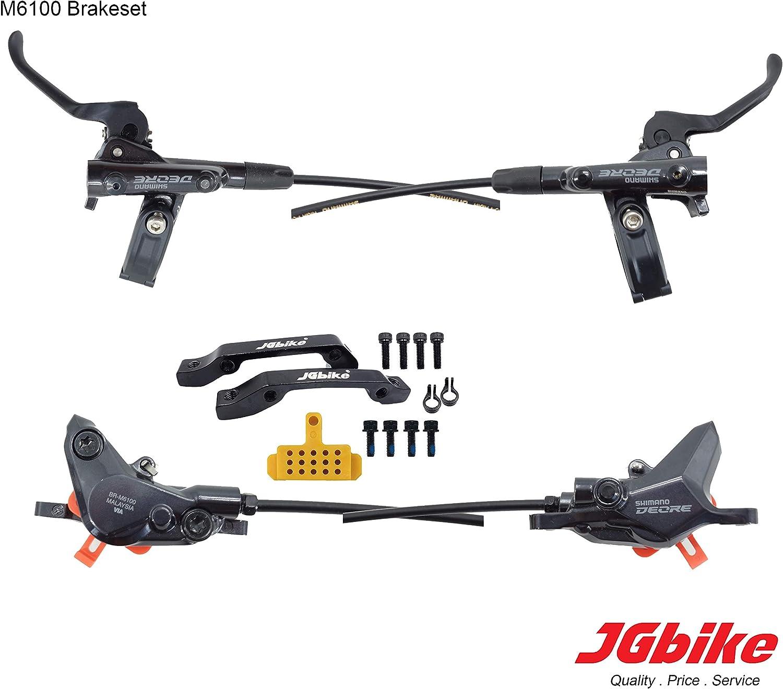 2021 Brand New SHIMANO Deore M6100 BL-M6100+BR-M6100 XC Race Hydraulic Brake Set