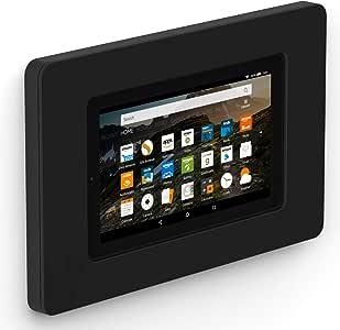 "VidaMount On-Wall Tablet Mount - Amazon Fire 7"" 7th / 9th Gen - Black (2017-19)"