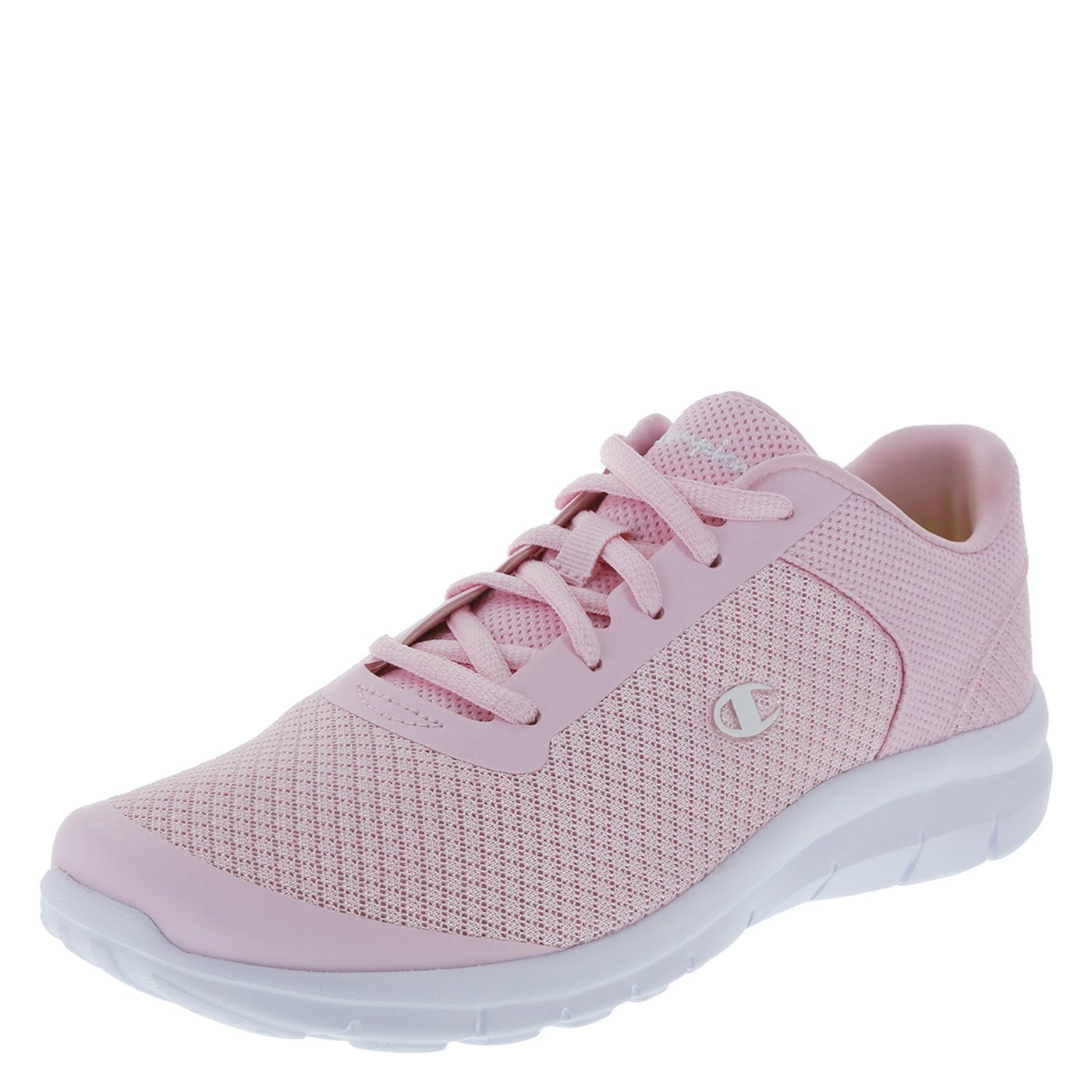 Champion Women's Light Pink Mesh Gusto Performance Cross Trainer 6 Regular