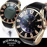 ROMAGO ロマゴ ミラー文字盤・ビッグフェイス腕時計 AC-W-RM007-0053ST-RG