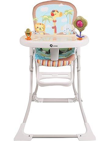 clamaro hangry baby kinder hochstuhl klappbar ab 6 monate mit 3 fach verstellbarem