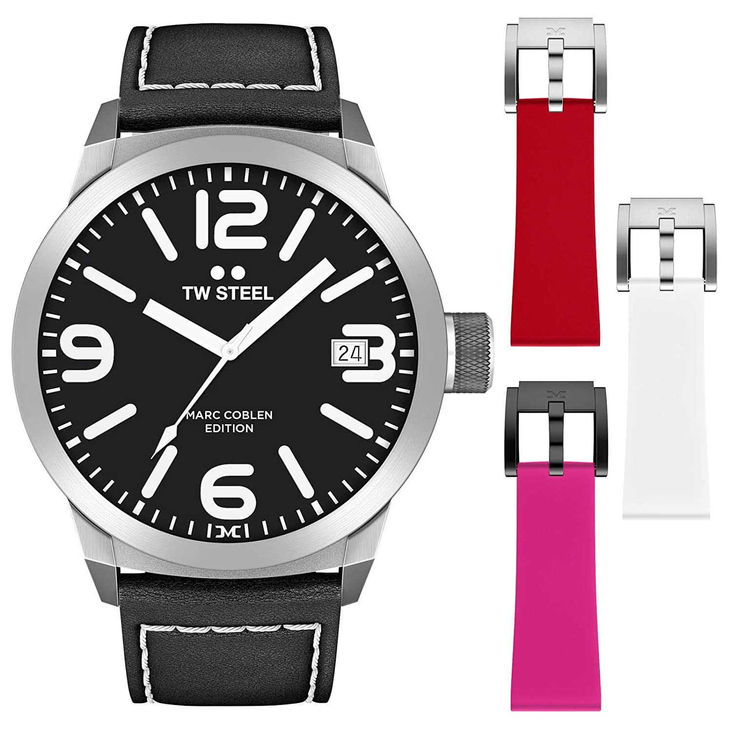 TW Steel Marc Coblen Edition 45 MM Set mit 3 ArmbÄndern TWMC29 - SET49