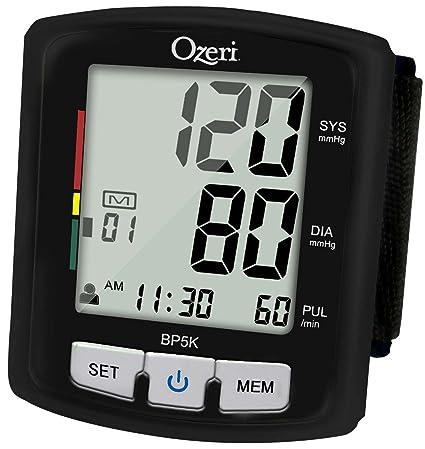 Tensiómetro Digital con Voz e Indicador de Hipertensión Ozeri BP5K