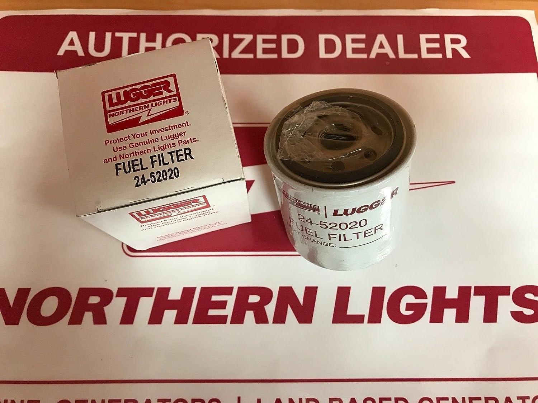 Northern Lights 24 52020 Fuel Filter 4 Micron 130366020 1992 Dodge Ram Location 130336020 Automotive