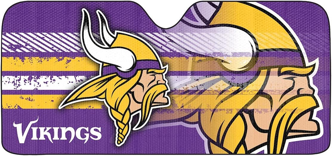 NFL Minnesota Vikings Universal Auto Shade