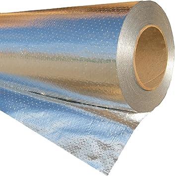 Radiantguard Ultima Foil Radiant Barrier Foil Insulation 500 Square Feet Roll U 500 B Amazon Co Uk Diy Tools