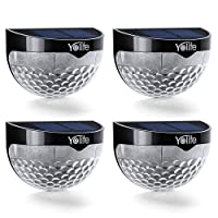 Deals on 4-Pack Yolife Solar Deck Lights Outdoor