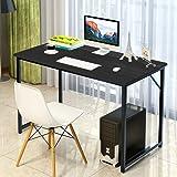"Modern Large Computer Desk Table Office Laptop PC Workstation, 48"" x 24"" (Black)"