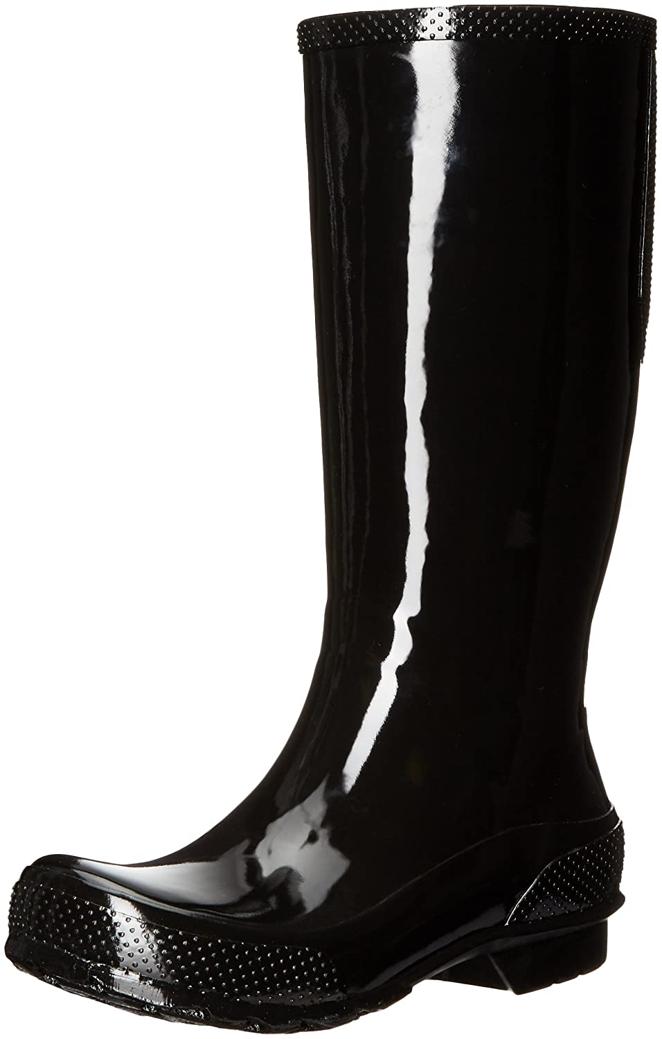 Crocs Women's Tall W Rain Boot B01HBWEYU6 7 US/7 M US M US|Black/Black