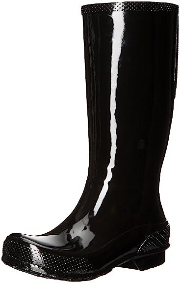 Crocs Womens Tall W Rain Boot Black/Black 38-39EU