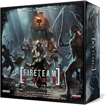 Edge Entertainment Fireteam Zero - Juego de Mesa EDGEG01: Amazon.es: Juguetes y juegos