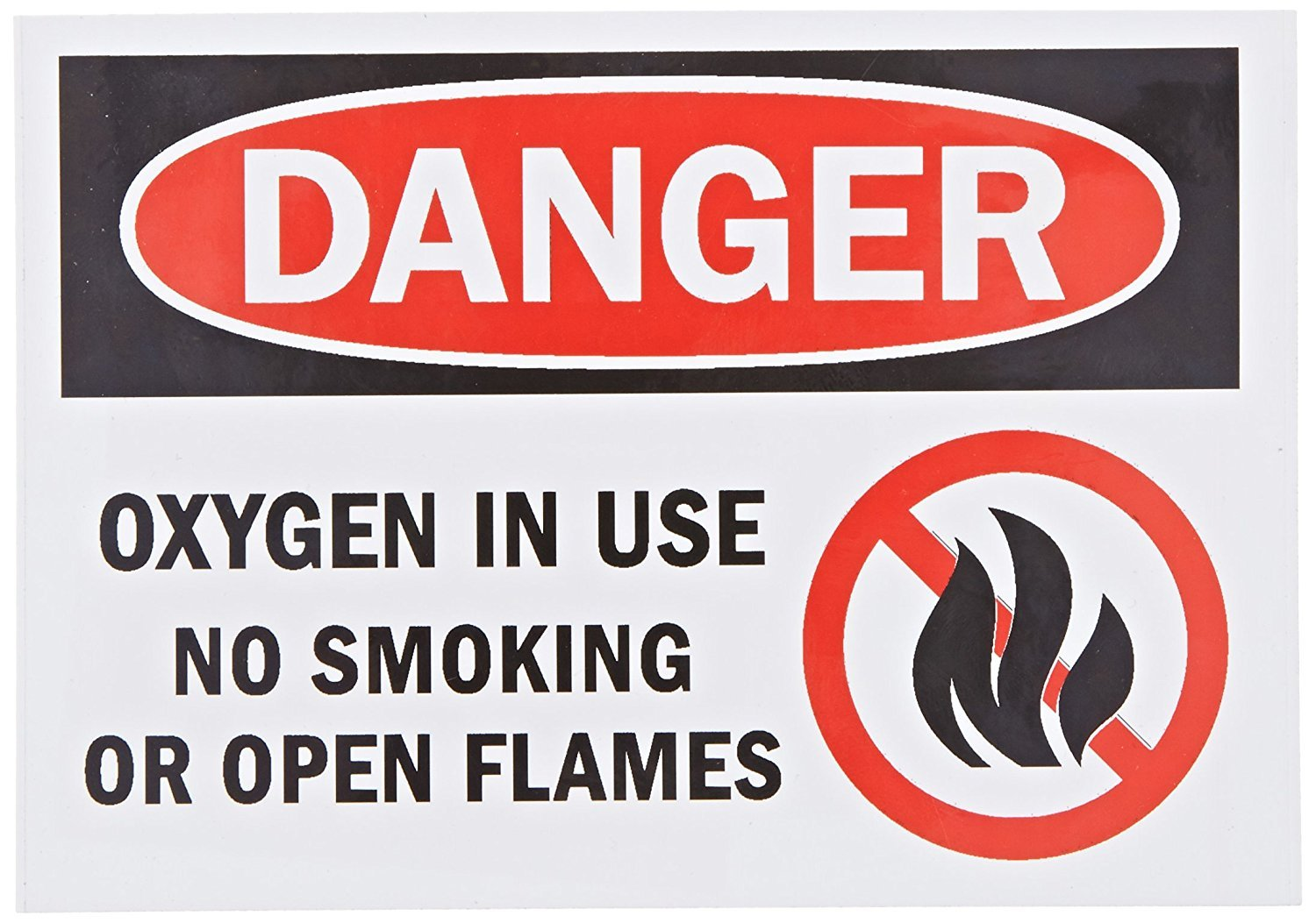 Danger: Oxygen in Use No Smoking, 3.5