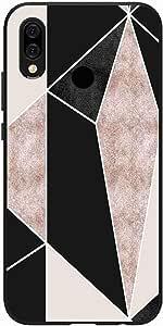 اوكتيك كفر حماية غطاء جراب متوافق مع هواوي بي سمارت بلس 2019 خلفية صلبة واطراف مرنه ممتص للصدمات - تصميم مطفي متعدد الألوان بواسطة اوكتيك