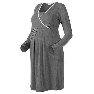 2HEARTS chemise de nuit d'allaitement chemise de nuit de grossesse chemise de nuit de grossesse