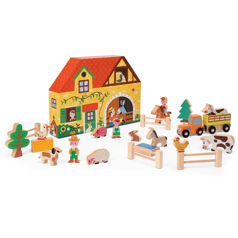 Janod J08524 Farm Story Box