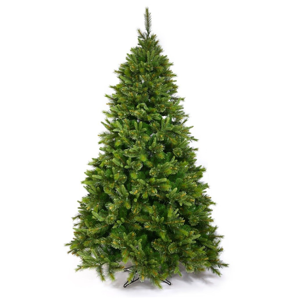 9.5' Cashmere Pine Slim Christmas Tree w/ 2168T UNLIT - A118185