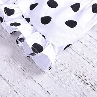 Amazon.com: Huarll - Conjunto de vestido de verano para bebé ...