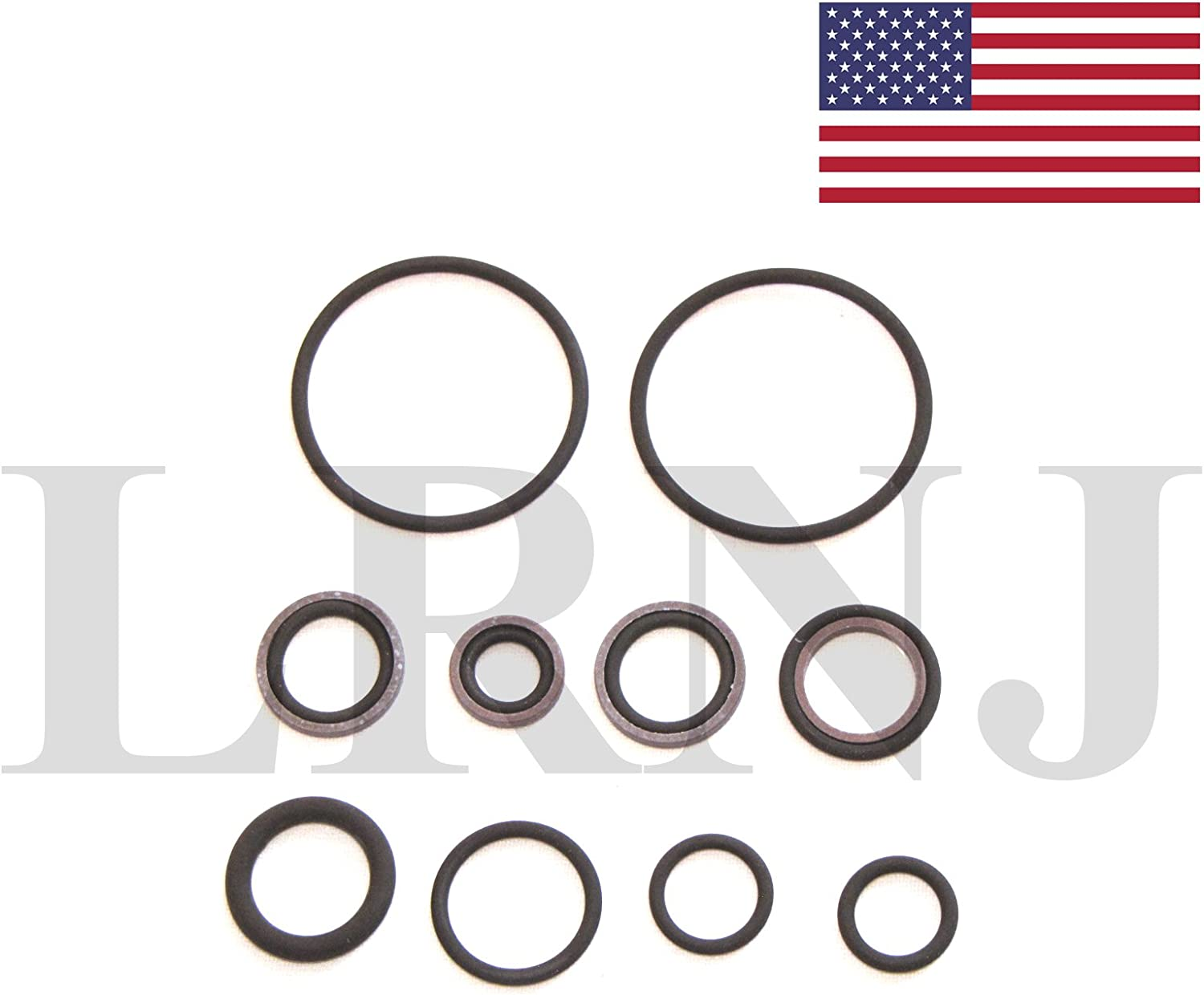 O-RING SEAL REPAIR KIT FOR S54 ENGINE VANOS UNIT LRNJBMWS54 APPLICABLE TO BMW Z4 E85 E86 M3.2 ROADSTER /& COUPE 2002-2008 PART