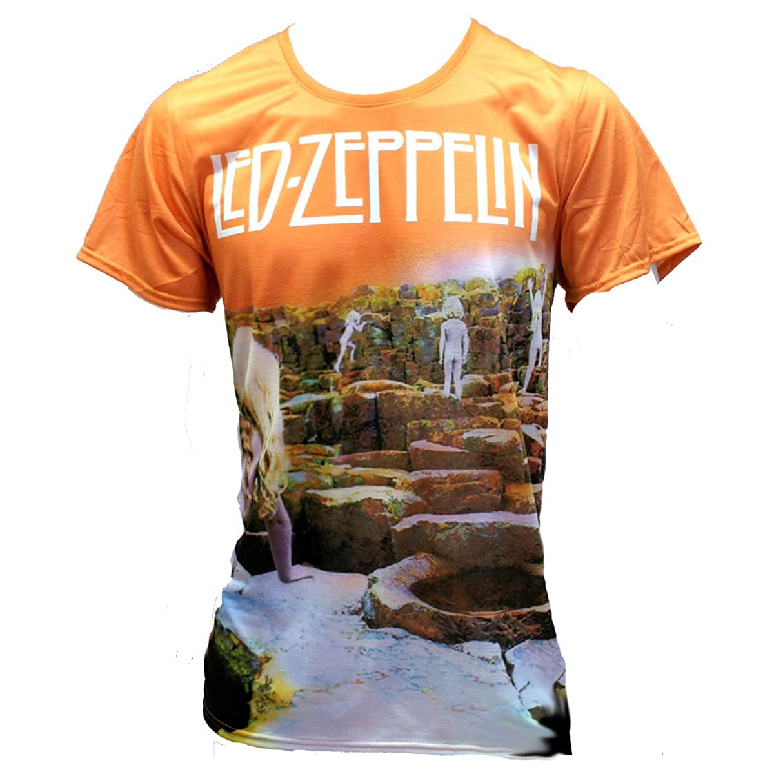 BORN2ROCK Led Zeppelin - Houses of The Holy - Men's T-Shirt