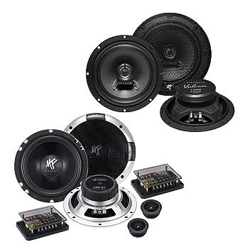 Pioneer Front//Heck 16,5cm//165mm Auto Lautsprecher//Boxen//Speaker Komplett-Set f/ür VW Volkswagen