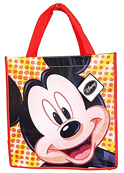 Amazon.com: Disney Mickey Mouse Happy Face Reusable bolsa ...