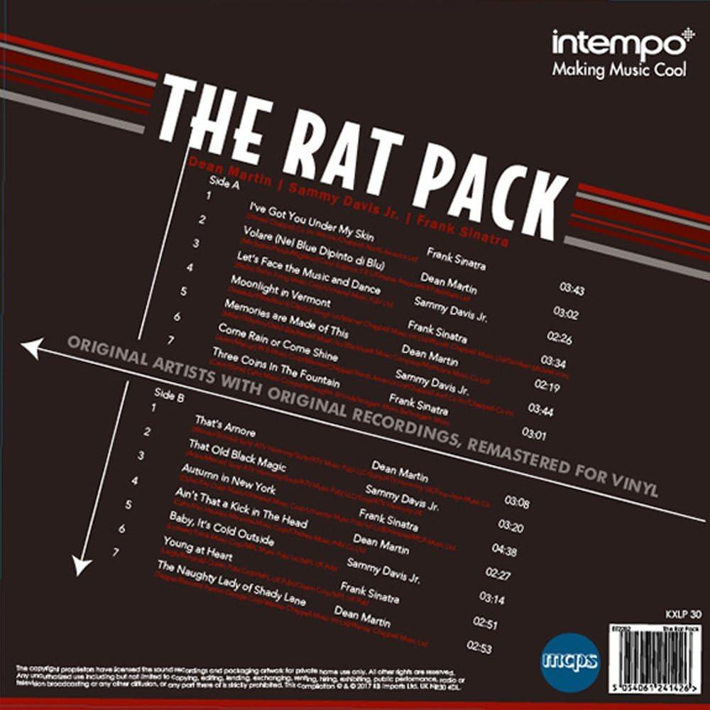 The Rat Pack LP Vinilo de Registro, rebotado, Grasa. Frank Sinatra ...
