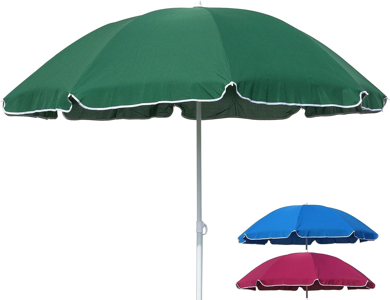Urban Design Parasol Garden Umbrella Beach Umbrella Sun Protection Umbrella  Hinged Joint Diameter 7 cm (Blue)