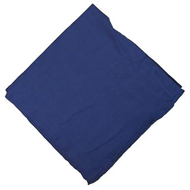 Halstuch 50x50cm Baumwolle 1A Qualität Einfarbig Bedruckbar Bestickbar  Azofrei Uni Tuch Kopftuch Schultertuch Accessoire: Amazon.de: Küche &  Haushalt