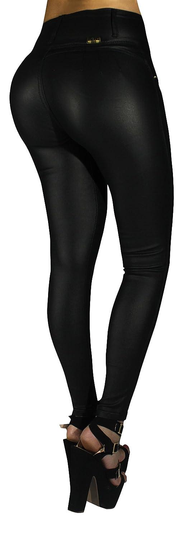 4918c605a44ec6 durable service Curvify Matte Black Faux Leather Pants | Butt Lifting Imitation  Leather Jeans