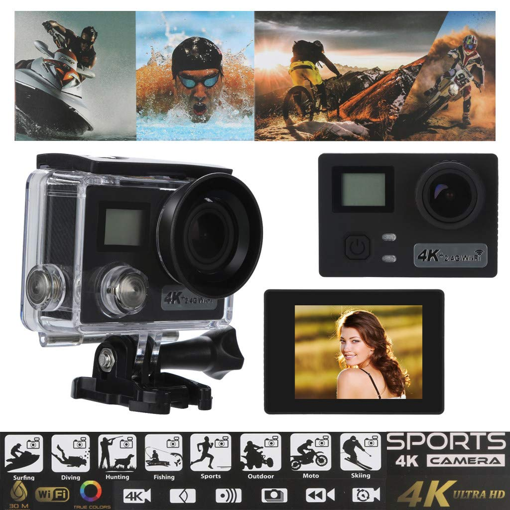 Sonmer Outdoor Water Resistant 2.0 inch HD Sports Action Camera,170° View Angle,16 Mega Pixels,DV DVR Cam Video Camcorder for Photo-shooting, Home Security, Deep-water Probing by Sonmer (Image #3)