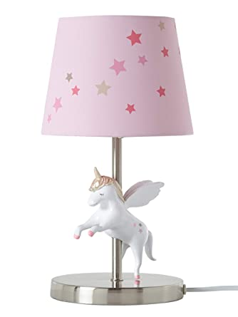 VERTBAUDET Lampe de chevet Licorne Rose TU: Amazon.fr: Luminaires et ...