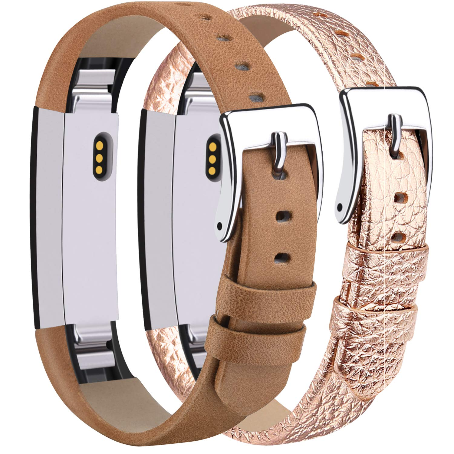 Ambcol for Fitbit Alta Bands//Fitbit Alta HR Bands Genuine Leather Replacement Bands for Fitbit Alta//Fitbit Alta HR